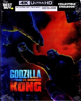 Godzilla Vs. Kong 4K SteelBook (BD + Digital Copy)(Exclusive)