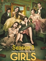 Girls: Season 3 HD Digital Copy Code (UV)