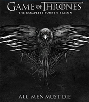 Game of Thrones: Season 4 HD Digital Copy Code (UV/iTunes/GooglePlay)