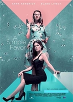 A Simple Favor HD Digital Copy Code (UV or iTunes)