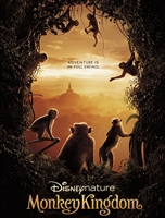 DisneyNature Monkey Kingdom HD Digital Copy Code (UV/iTunes/GooglePlay/Amazon)