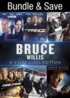 Bruce Willis 6-Film Collection: Vice / The Prince / Cold Light of Day / Fire With Fire / Set Up / Hostage HD Digital Copy Code (UV)