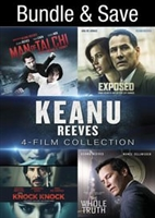 Keanu Reeves 4-Film Collection: Man of Tai Chi / Exposed / Knock Knock / The Whole Truth HD Digital Copy Code (UV)