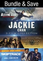 Jackie Chan 3-Film Collection: Bleeding Steel / Dragon Blade / Skiptrace HD Digital Copy Code (UV)