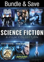 Science Fiction Sci-Fi 6-Film Collection: Universal Soldier / Ender's Game / Total Recall (1990) / Stargate / Replicant / Highlander: The Source HD Digital Copy Code (UV)