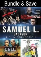 Samuel L. Jackson 4-Film Collection: The Spirit / Reasonable Doubt / Cell / Kite HD Digital Copy Code (UV)