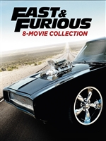 Fast and Furious: 8-Movie Collection HD Digital Copy Code (VUDU)