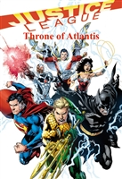 Justice League: Throne of Atlantis Graphic Novel HD Digital Comic Code (UV)