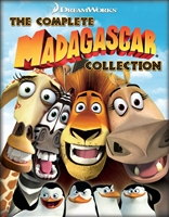 Madagascar Ultimate Collection: Madagascar / Escape 2 Africa / 3 Europe's Most Wanted / Penguins of Madagascar HD Digital Copy Code (UV/iTunes/GooglePlay/Amazon)