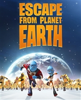 Escape From Planet Earth HD Digital Copy Code (VUDU)