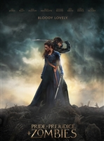 Pride and Prejudice and Zombies HD Digital Copy Code (VUDU/iTunes/GooglePlay/Amazon)