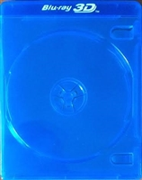 Empty 2-Disc 3D Logo Blu-ray Case (12mm)