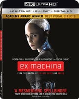 Ex Machina 4K (2015)(BD + Digital Copy)