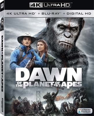 Dawn of the Planet of the Apes 4K (BD + Digital Copy)