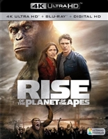 Rise of the Planet of the Apes 4K (BD + Digital Copy)