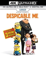 Despicable Me 4K (BD + Digital Copy)