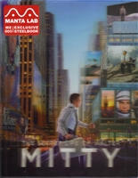 The Secret Life of Walter Mitty Lenticular SteelBook (Hong Kong)