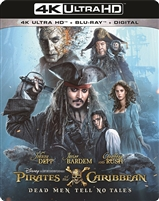 Pirates of the Caribbean: Dead Men Tell No Tales 4K (BD + Digital Copy)