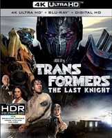 Transformers: The Last Knight 4K (BD + Digital Copy)