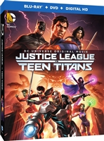 Justice League Vs Teen Titans (Slip)