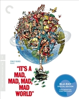 It's a Mad, Mad, Mad, Mad World: Criterion Collection DigiPack (BD/DVD)