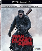 War For the Planet of the Apes 4K (BD + Digital Copy)