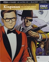 Kingsman: The Golden Circle 4K SteelBook (BD + Digital Copy)(Exclusive)