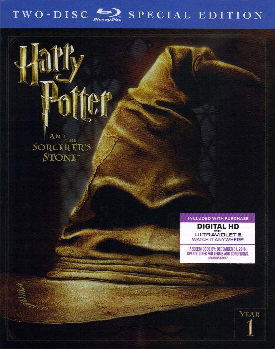 Harry Potter and the Sorcerer's Stone: Extended Edition - 2-Disc Special  Edition (BD + Digital Copy)