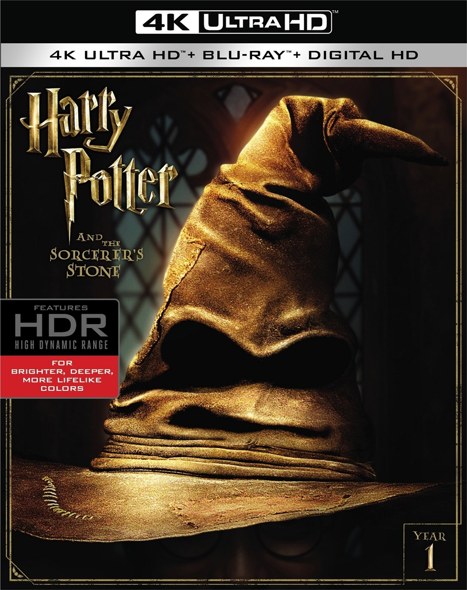 Harry Potter and the Sorcerer's Stone: Extended Edition 4K (BD + Digital  Copy)