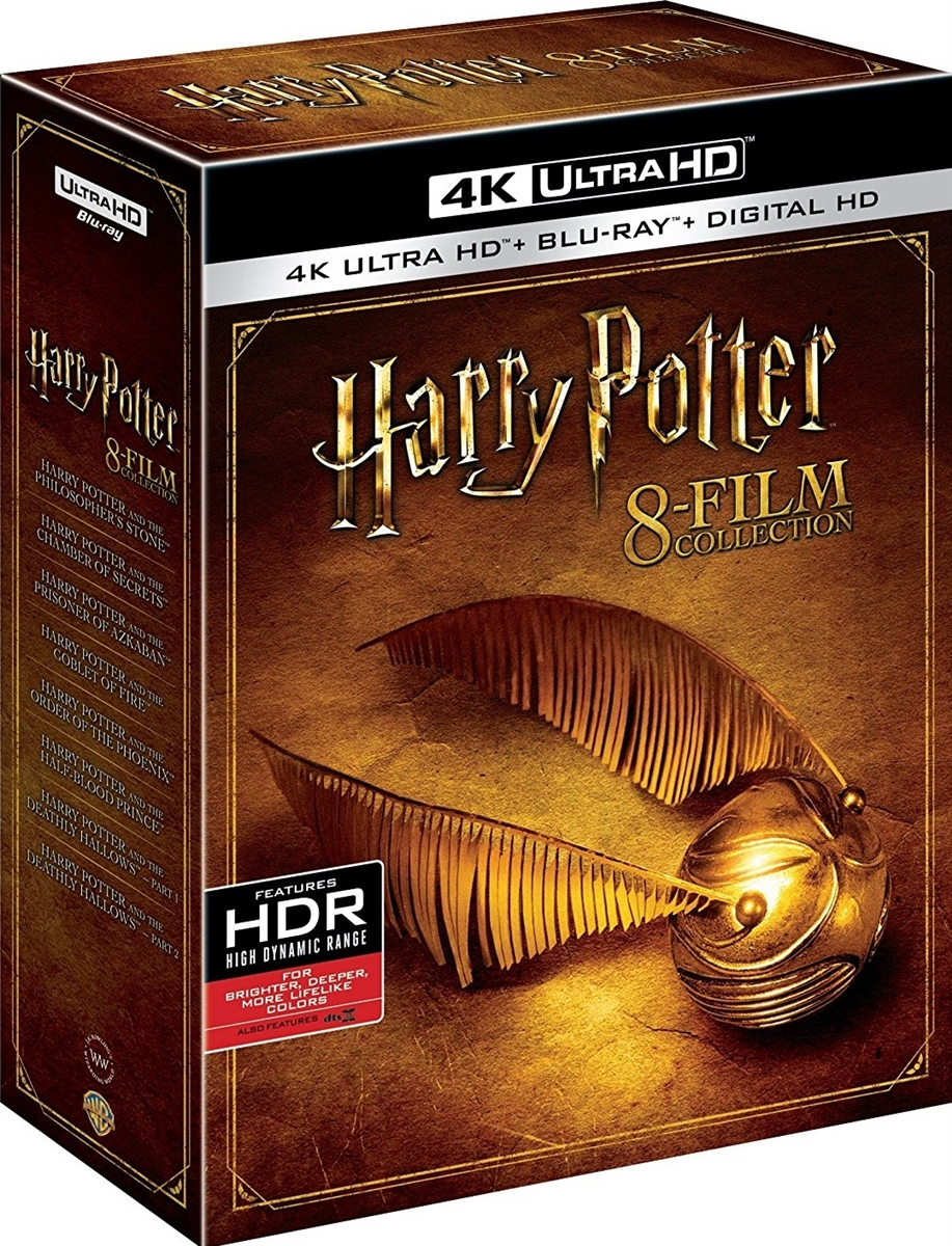 Harry Potter: The Complete 4K 8-Film Collection (BD + Digital Copy)