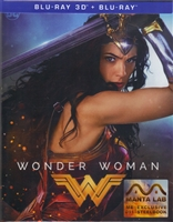 Wonder Woman 3D Full Slip SteelBook (2017)(Hong Kong)