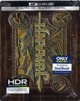 Jumanji 4K SteelBook (BD + Digital Copy)(Exclusive)