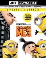 Despicable Me 3 4K (BD + Digital Copy)