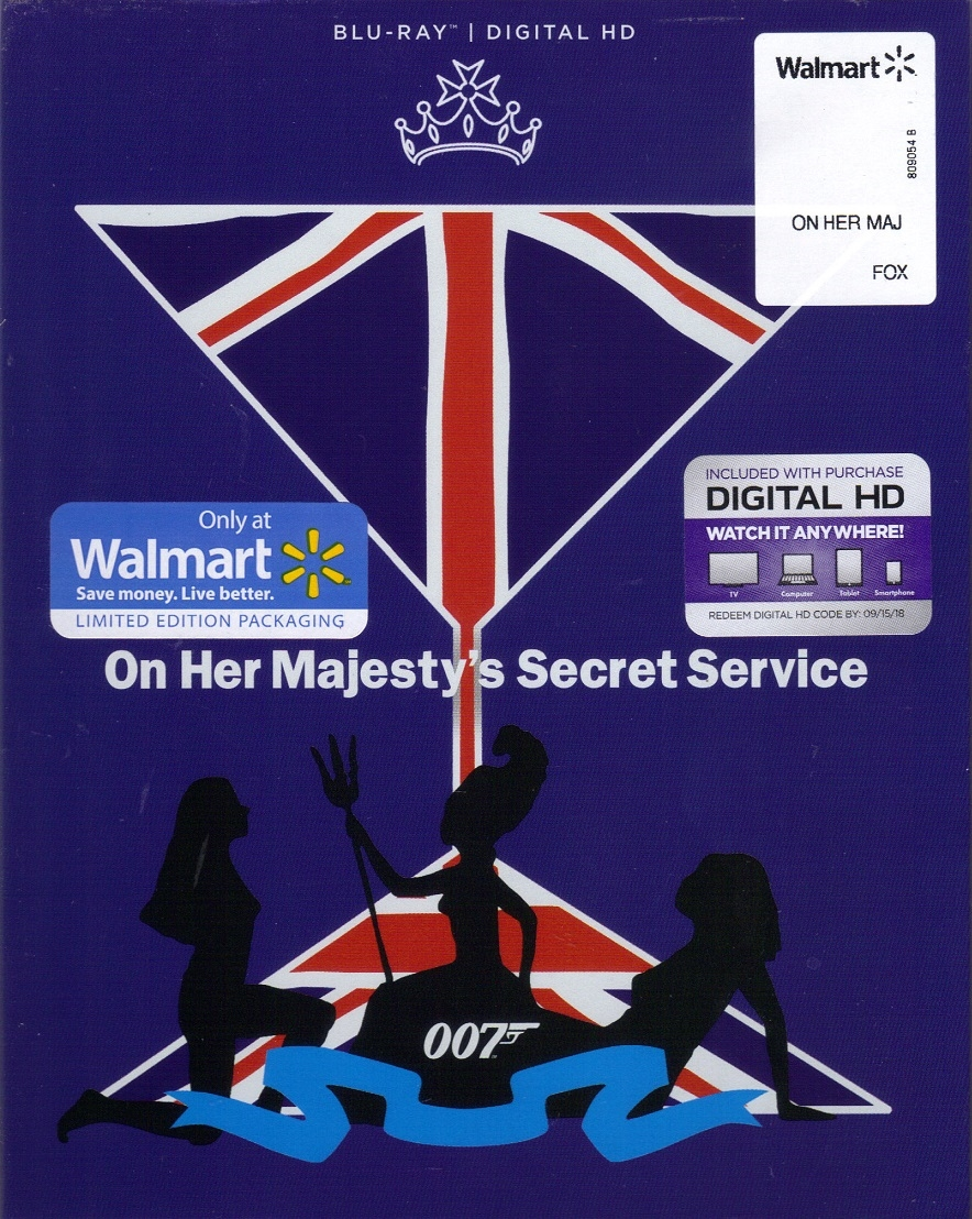 On Her Majesty's Secret Service - 007 James Bond (BD + Digital  Copy)(Exclusive)