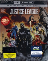 Justice League 4K SteelBook (2017)(BD + Digital Copy)(Exclusive)