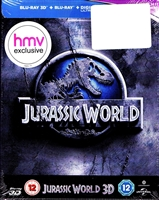 Jurassic World 3D SteelBook (UK)