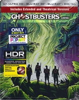 Ghostbusters 3D & 4K SteelBook (2016)(BD + Digital Copy)(Exclusive)