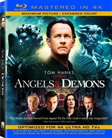 Angels and Demons 4K (BD + Digital Copy)