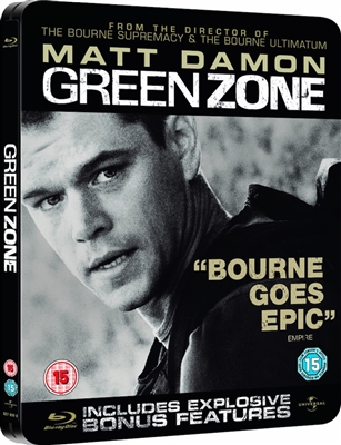 Green Zone SteelBook (UK)