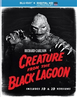 Creature From the Black Lagoon 3D (BD + Digital Copy)