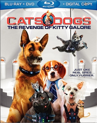 Cats and Dogs: The Revenge of Kitty Galore (Lenticular Slip)