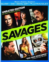 Savages: Unrated (BD/DVD + Digital Copy)