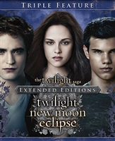 The Twilight Saga Extended Editions Trilogy: Twilight / New Moon / Eclipse HD Digital Copy Code (UV)