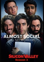 Silicon Valley: Season 3 HD Digital Copy Code (VUDU/iTunes/Flixster/GooglePlay)