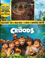 The Croods 3D w/ Belt Plush (BD/DVD + Digital Copy)(Exclusive)