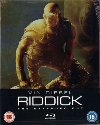 Riddick: Extended Cut SteelBook (UK)