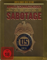 Sabotage SteelBook: Uncut Gold Edition (Germany)