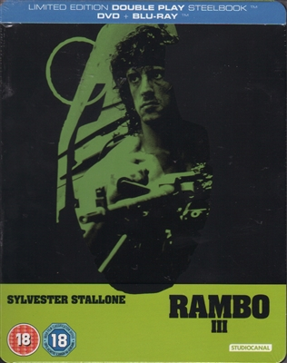 Rambo III SteelBook (UK)