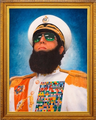 The Dictator: General Aladeen Edition - Unrated (BD/DVD + Digital Copy)(Exclusive)