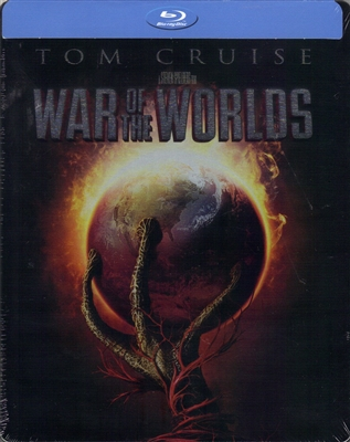War of the Worlds SteelBook (2005)(Exclusive)
